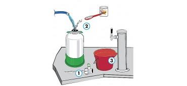 Limpieza de dispensadores, enfriadores y grifos